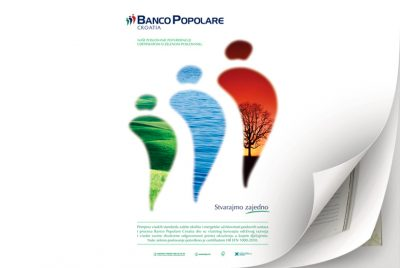 Graphic design and advertisment creation for Banco Popolare Croatia.… View More
