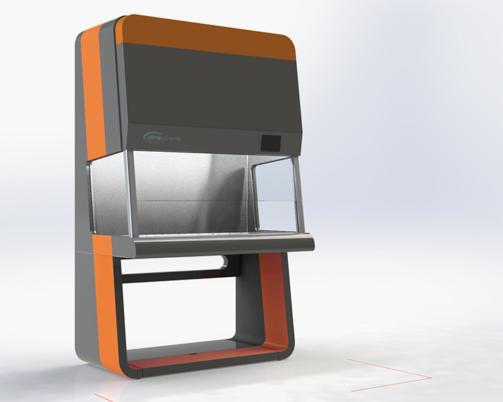Microbiological biosafety cabinet designs for Klimaoprema company.… View More