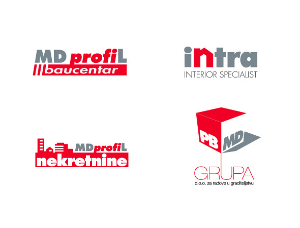 Selection of visual identities for construction companies… View More