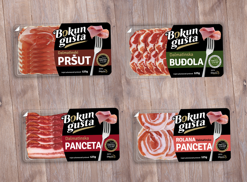Packaging design for different meat products.… View More