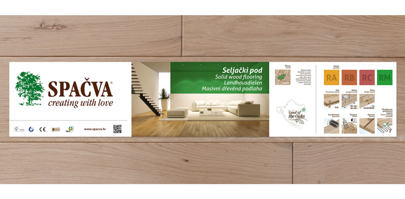 Packaging design for Spacva wooden products… View More