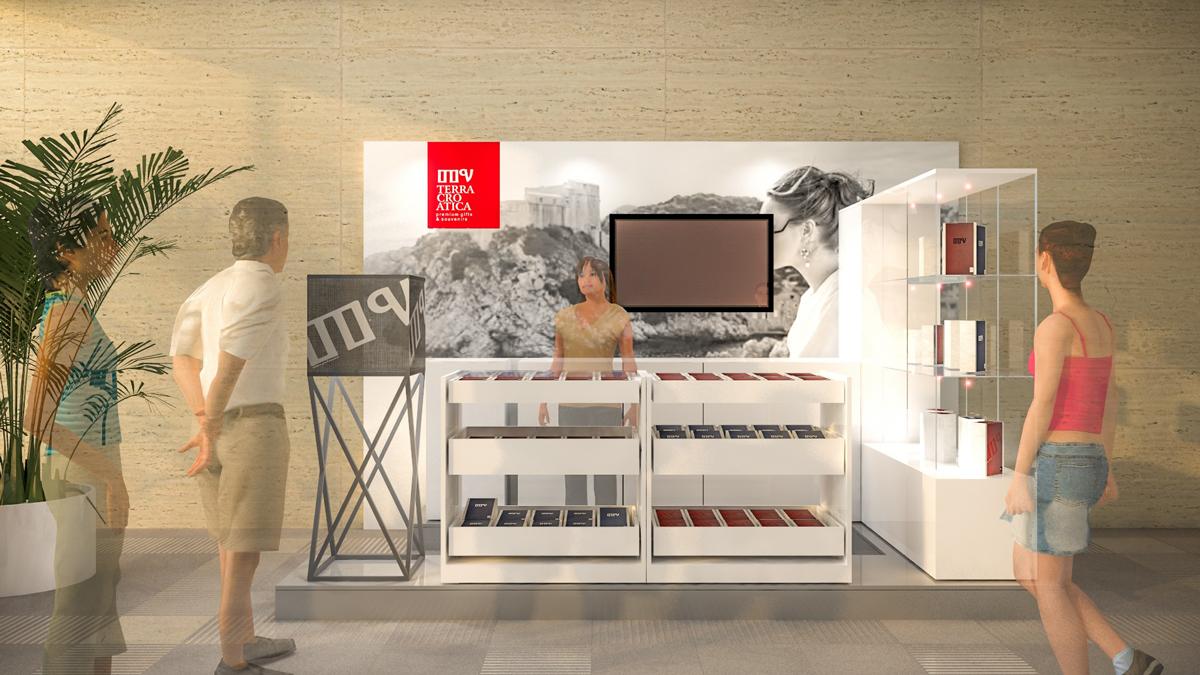 Modular souvenir shop for hotel lobbies… View More