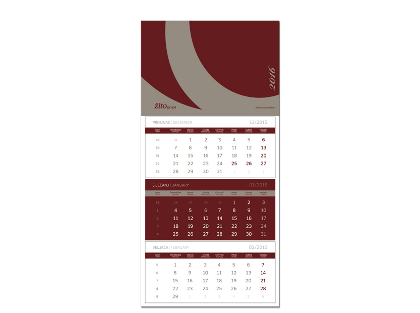 Graphic design for corporate calendars… View More